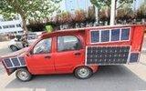 自制太阳能车 加油站的看到哭晕