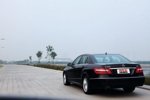 试驾奔驰E260与奥迪A6L 2.7TDI 油耗对比