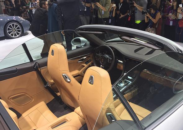 高效动力与迷人魅力 新保时捷 911 carrera中国首发高清图片