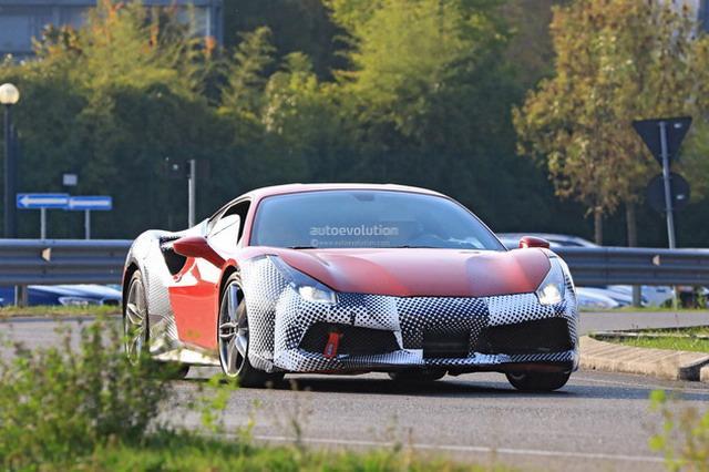 百公里加速2.7秒 法拉利488 GTO最新谍照