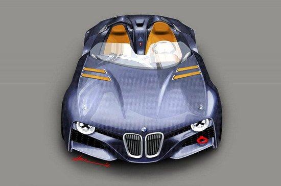 宝马发布328 Hommage超跑 创新复古式设计