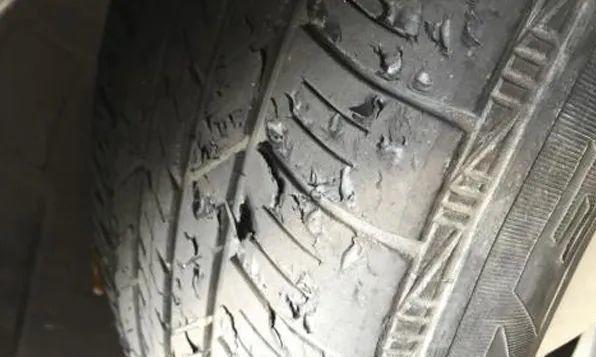 """补过得轮胎能像新胎一样""""嚯~嚯~""""吗?"""