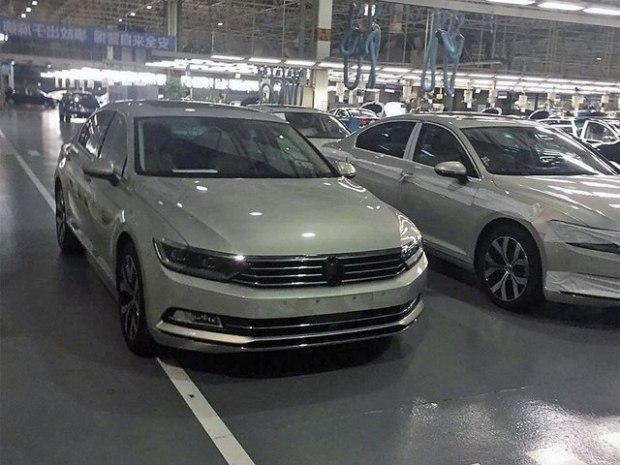 一汽大众车展阵容 新迈腾 纪念版车型高清图片