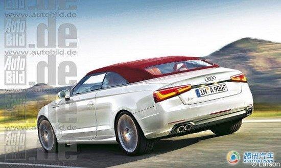8的柴油发动机.autobild的消息表明,奥迪a9将于2014年正式登高清图片
