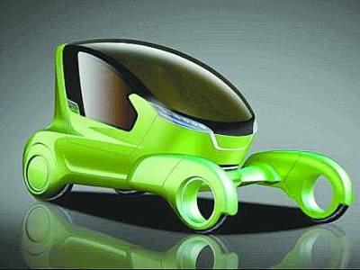 奇瑞TX、@ant概念车亮相 预言未来趋势
