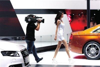 有腕有范还有乐 北京车展看的不只是车