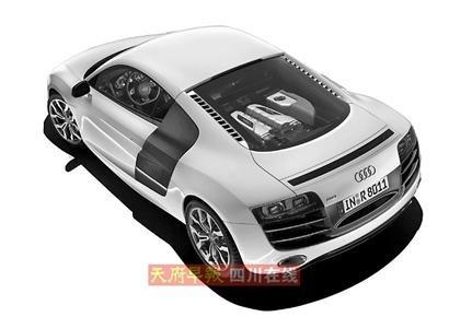 售价232.8万元 奥迪R8 5.2FSI中国上市