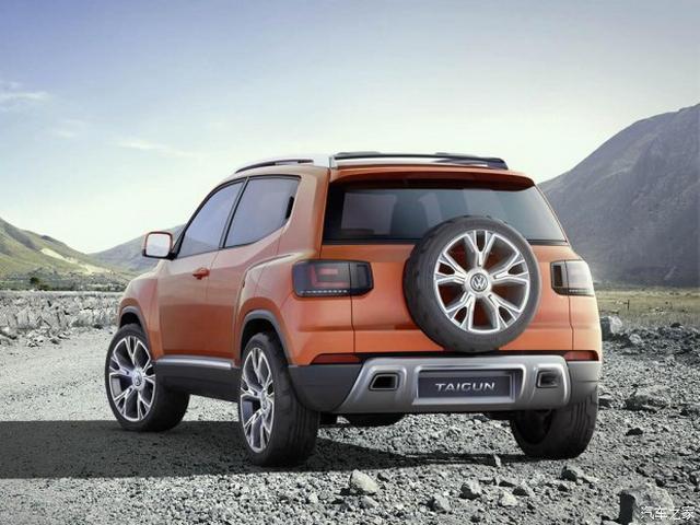 公共入门级SUV车型 Taigun观点车将量产