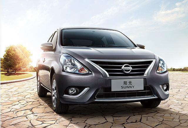 东风日产2014款阳光车型高清图片