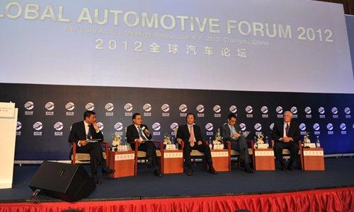 互动:中国汽车工业的全景图画