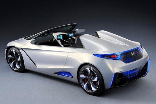 本田全新跑车2012年发布 EV-Ster将量产
