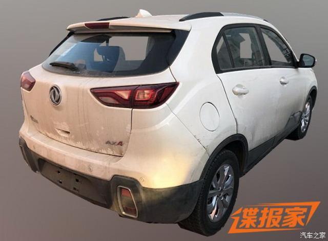 家族式设计 东风风神AX4 1.0T车型谍照曝光