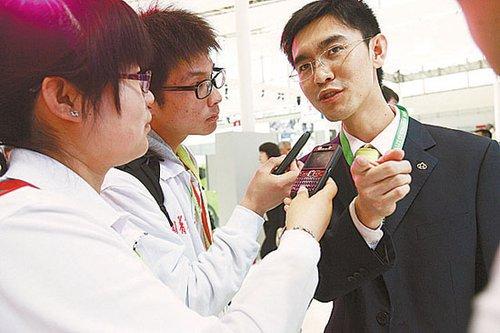 大学生记者:零距离北京车展
