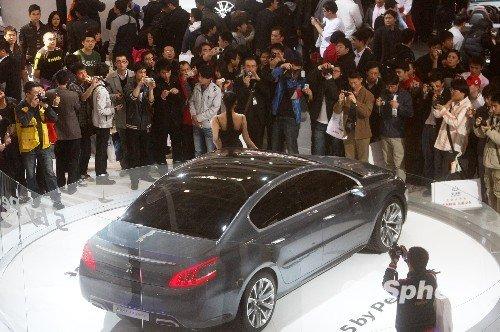 2010北京车展闭幕 观展人次超78万创纪录