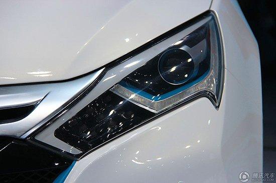 比亚迪 秦 电动车全球首发高清图片