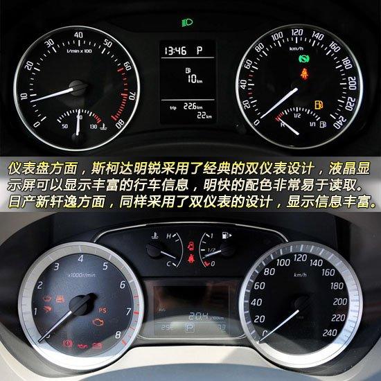两车的方向盘都经过了真皮包裹,其中明锐的方向盘可以上下和前后调节