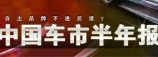 2010中国车市半年报