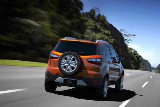福特全新SUV  EcoSport官图发布 搭1