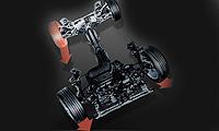 SH-AWD四轮驱动力自由控制系统