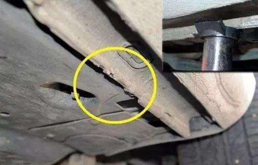 汽车门下的小铁板 你注意到了吗 知道它的作用是什么吗