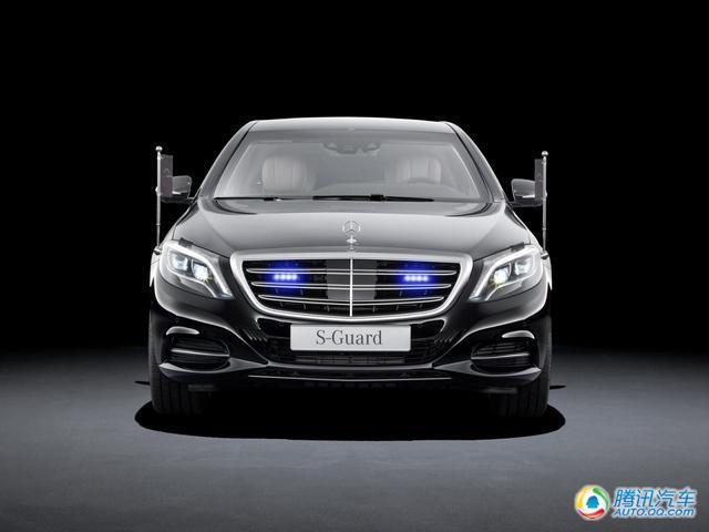 奔驰新s600 guard防弹车官图发布 顶级安全图片