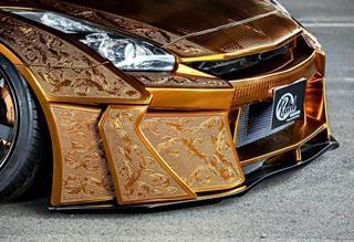 东瀛战神Nissan R35 GT-R将披黄金战甲