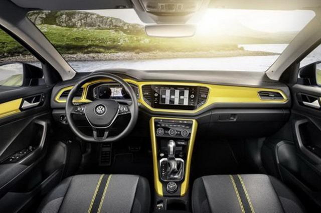 一汽大众首款SUV亮相 T-ROC量产版发布