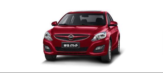 海马M6 1.6L车型将上市 预售价7.28万元起