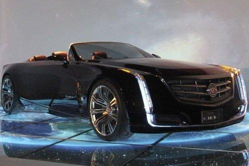凯迪拉克ciel敞篷概念车 凯迪拉克百年风范之旅 ciel将高清图片