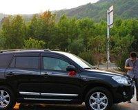 西安黑色丰田RAV4提车过程