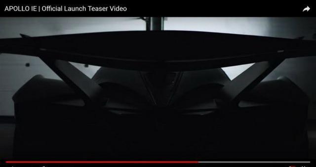 接纳碳纤维底盘 Apollo全新车型预告图