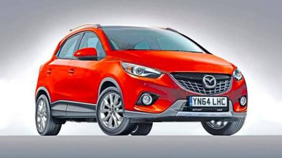 马自达CX-3假想图-马自达未来新车规划 换代马自达6 小型SUV