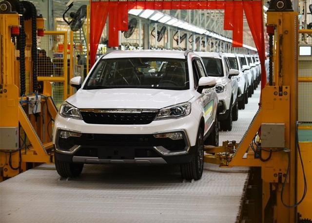 猎豹CS9 EV新车正式下线 续航里程255km