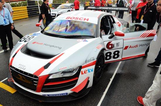 奥迪R8 LMS杯澳门收官 赛车体验圆满落幕