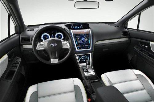 斯巴鲁XV跨界SUV车型浅析 未来或将国产