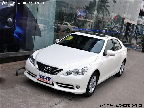 一汽丰田推出锐志特装版 或3月10日上市