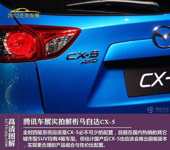 期待动力表现 马自达CX-5实拍解析