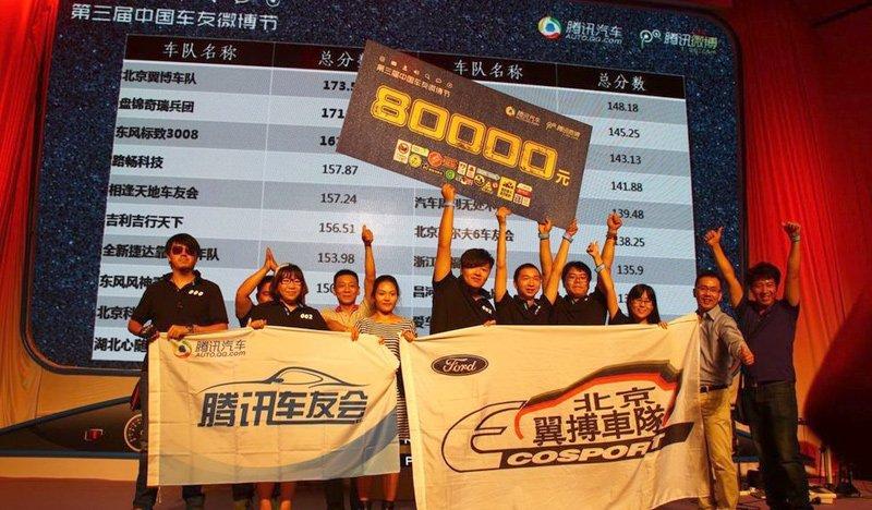 2013中国车友微博节总冠军揭晓