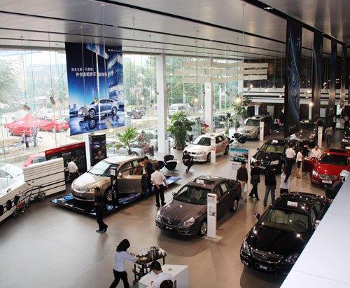 汽车经销商扩充实力 多模式竞争格局隐现