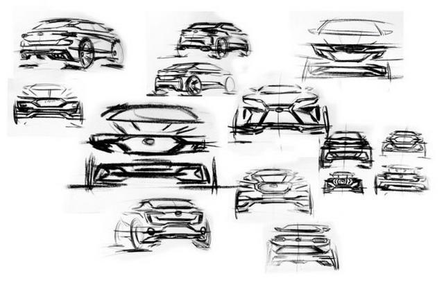 造型前卫大胆 曝斯威新SUV设计图
