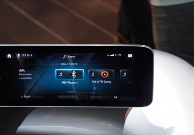 """梅赛德斯-奔驰MBUX系统:AI及自然语言的""""革命"""""""
