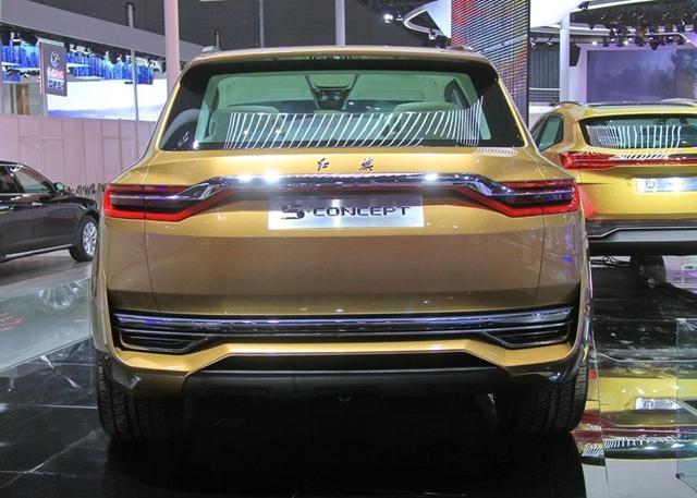 红旗有望推出中型SUV 直接竞争奥迪Q5高清图片
