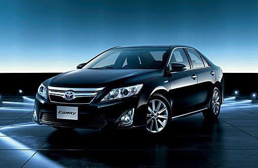 换代凯美瑞日版车型海外上市 约24.16万起