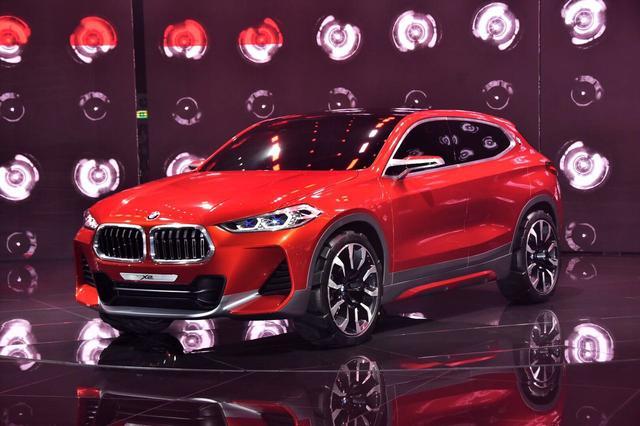 BMW X2领衔 巴黎车展宝马发布三款首发新车