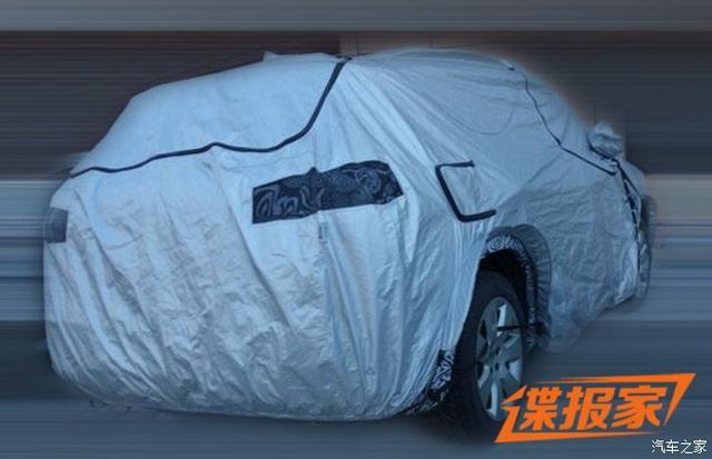 配置是亮点 曝大众全新SUV测试谍照
