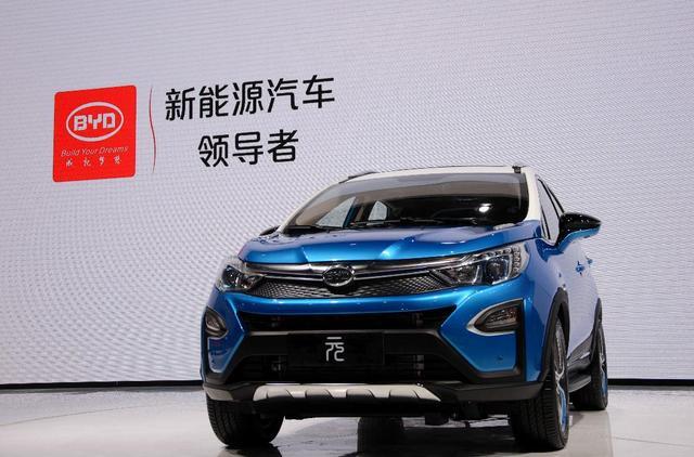 比亚迪新能源汽车装上 上海芯高清图片