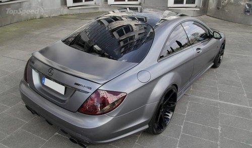 奔驰CL65 AMG特别版本 双涡轮/670马力