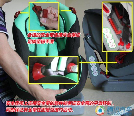 多图实拍详解 教您辨别儿童安全座椅质量