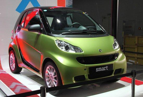 [新车解析]2011款Smart车展将公布预售价