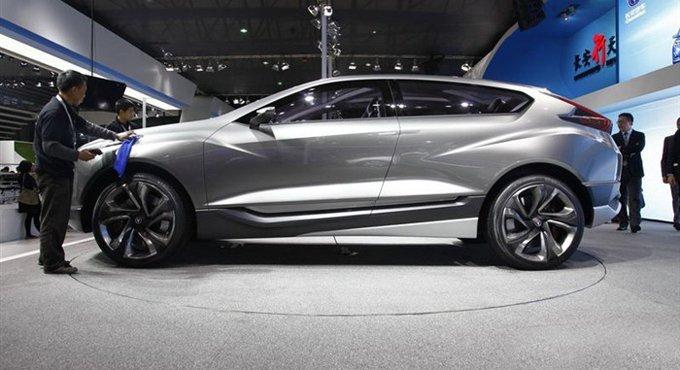 概念车比宝马X6好看 量产变这样